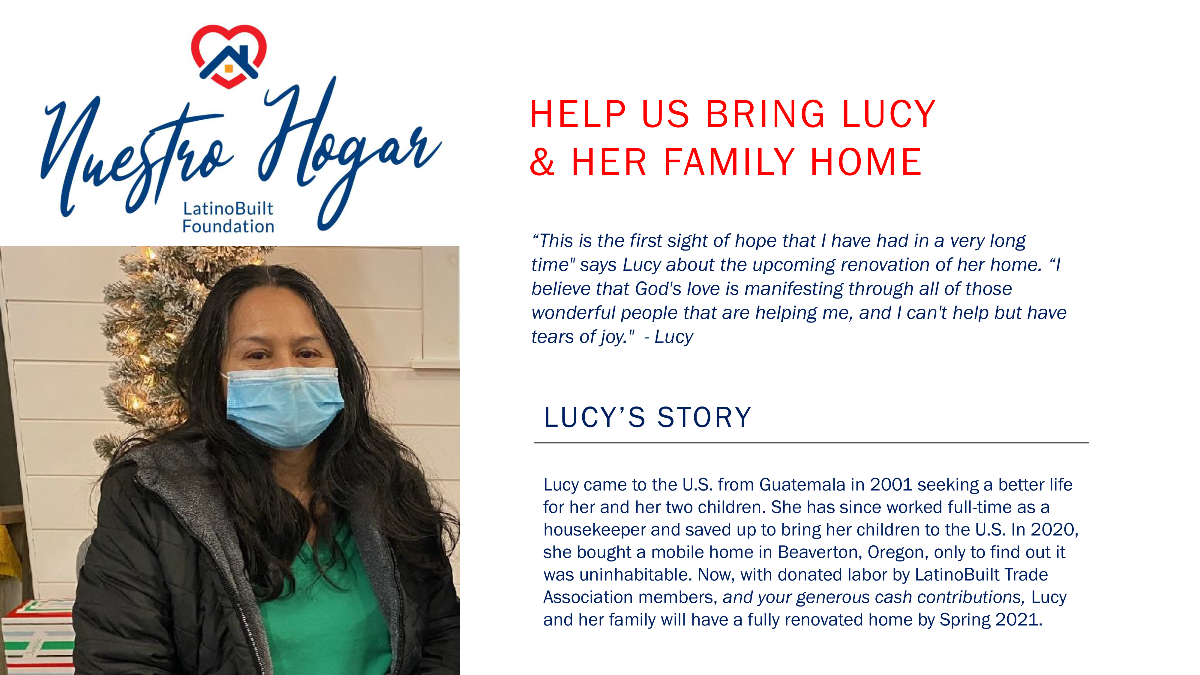 Help us bring Lucy & her family home